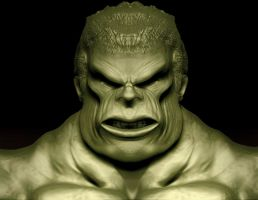 Hulk by 3Dswed