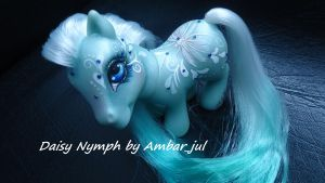 My little pony custom butterfly Daisy Nymph by AmbarJulieta