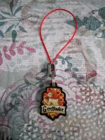 Gryffindor House Phone Charm by AriesNamarie