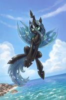 Chrysalis ... beach by KP-ShadowSquirrel
