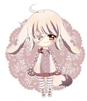 C: Tea-bunnie by myaoh