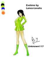 Request#17: Evelene by Lanos-Lovahs by Unknown117