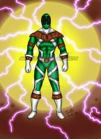 Super Zeo Green Ranger by blueliberty