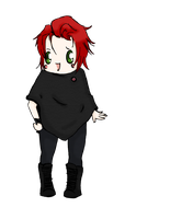 Chibi Gerard Way in poncho. by Itsmakazilla