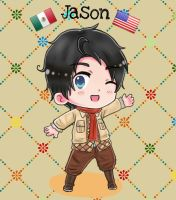 Gift: Jason 'El Chicano' Jones by JackXAngelicaforever