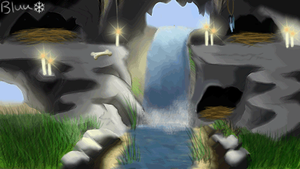 Candle Cavern Pack Room (FREE) by BluuWynter