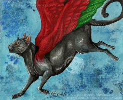 The Catbird by soulspoison