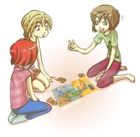 Board game by Rone-Chan