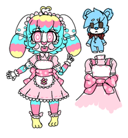 ref Animatronic my oc Toy Rania by rania-the-candy