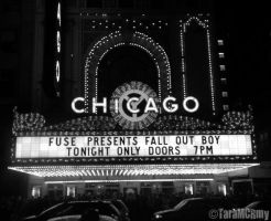 Fall Out Boy - Chicago Theater by TaraMCRmy