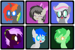 Profile Icons for ShinodaGE by MidnyteSketch