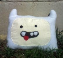 Finn The Pillow by GreenSleazy