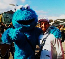 Cookie Monster! Comic con 2013 may. by Immortal-Inside