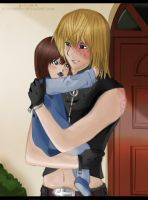 Mello and his child - Color by Hatake-Flor