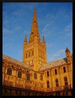 Norwich Cathedral 2 by lexxi