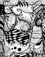 Zentangle 1 by deathycat