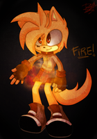 Fireeee by KoffiChan