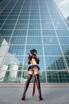 Ryuko Matoi Cosplay: So Sexy She Might Pass Out by Khainsaw