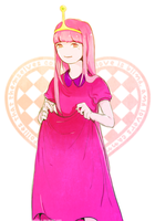 at : princess bubblegum by Sonny-Y