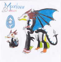 Moonlovur Dragon by Sept-creature