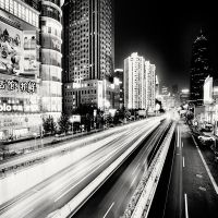Shanghai - Light from China by xMEGALOPOLISx