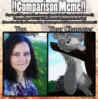 Comparison meme by pariahpoet