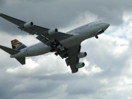 Boeing 747-400 SAA by open-flanker