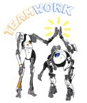 Teamwork! by thnksfrthwilliam