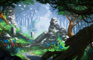 The Forest by DigitalCutti