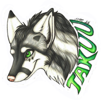 Takuu Badge Gift by SaltyPuppy