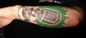 mic tattooOoOOo by inside-the-shadow
