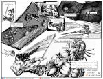 Sword of keon page 6 and 7 by bandro