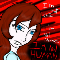 Gina isn't a human - she mean by NOKIAandLATASH