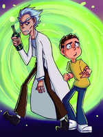 I Don't Think This Was a Good Idea, Rick by TheGalacticKat