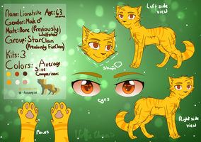 Lionstrike Reference Sheet [Up to Date] by iWolfieChan