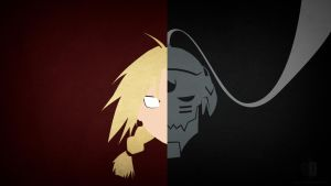 Edward and Alphonse Elric by danieldupre