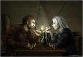 Everything Is A Contest by Isriana