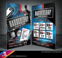 Barbershop Flyer Templates by AnotherBcreation