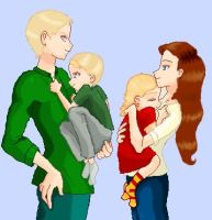The new Malfoy family V.1 by ElvaAndHamy