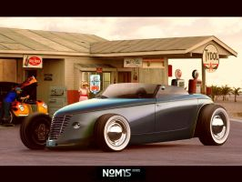 Custom Hotrod Concept by NOM15