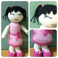 Baby in pink by handfree