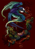 Fenrir and the Martlet by L-MakesArt