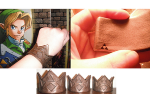 LOZ Bronze Goron Bracelets by Enlightenup23