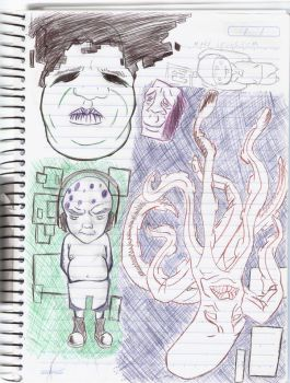 first one - a notebook page by paprikaboy