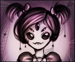 Muffet Potrait by BelieveTheHorror