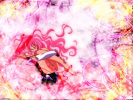 Utena Curled Up by sylphkeeper