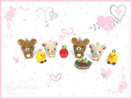 Rilakkuma Family by FlyingPandaGirl
