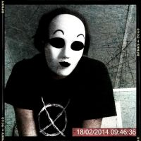 Masked Person by Cassia-Hope