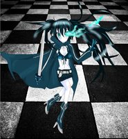 VOCALOID: Black Rock Shooter by MewCherrii