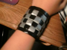 Duck Tape Bracelet by Ryuuzaki-L-spy-19
